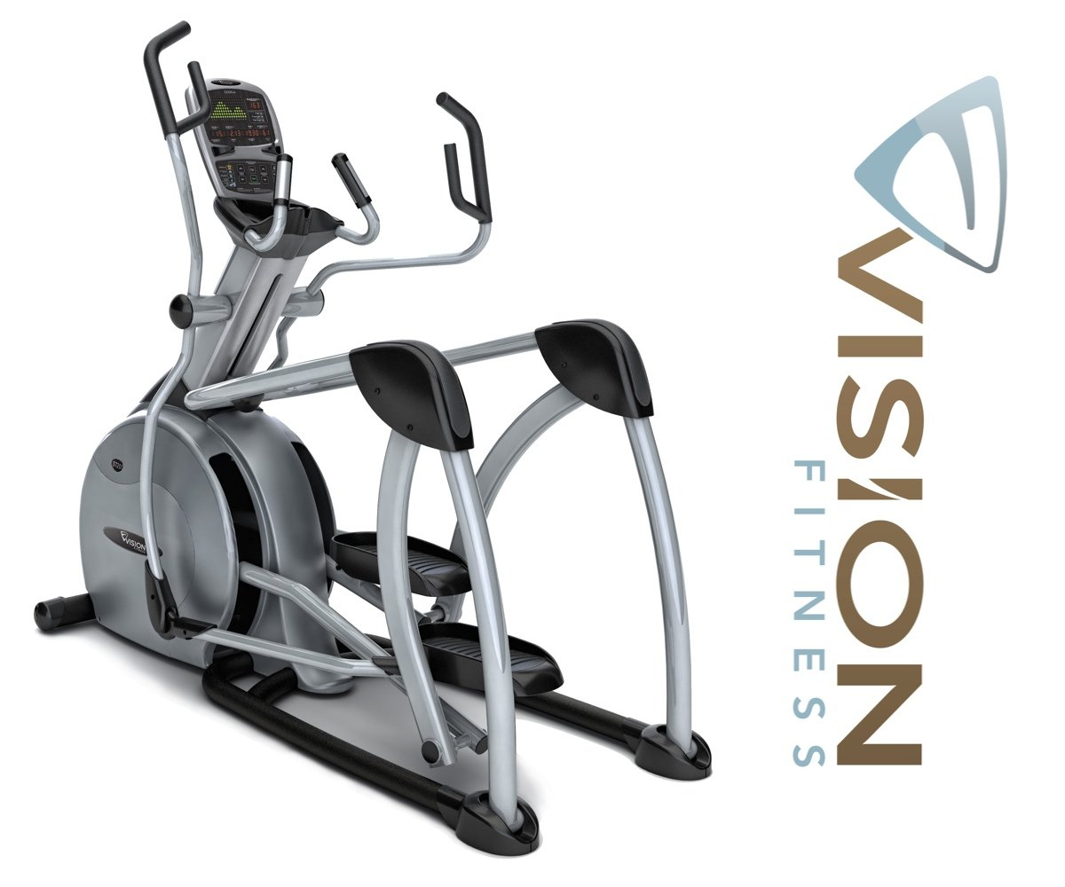 Vision Fitness S7200 HRT Suspension Elliptical Trainer - inkl. Polar Pulsuhr und Brustgurt