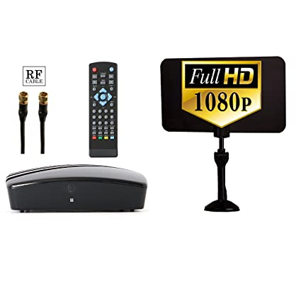 amazon com digital tv converter box digital antenna rf and rca rh amazon com Digital TV Converter Box Target HD Converter Box