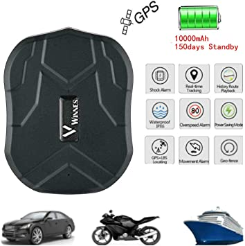 Hangang GPS Tracker GPS para Coche Impermeable/gsm/gprs Tracking ...