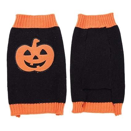 Amazon.com  KARSEEMEE STORE Dog Halloween Sweaters Pumpkin