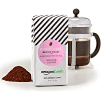 3 Pack AmazonFresh 12 Ounce Donut Cafe Medium Roast Ground Coffee