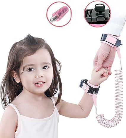 Anti Lost Wrist Link Correa para niños con cerradura, 1.5M/2M/2.5M ...