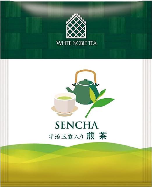 三井農林 ホワイトノーブル紅茶 ( アルミ・ティーバッグ ) 宇治玉露入り煎茶 2.0g×50個