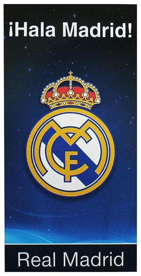 Secaneta Real Madrid Toalla Playa Terciopelo Azul