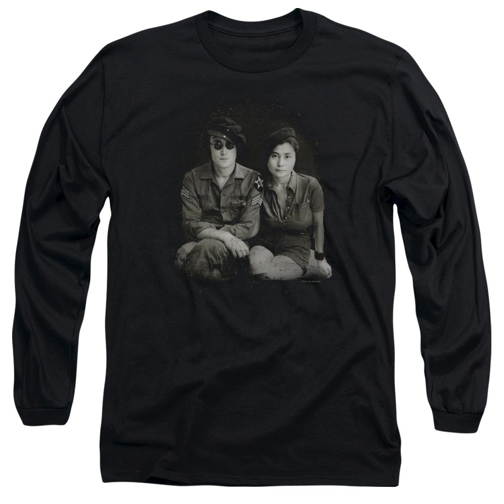 TeeShirtPalace Beret Long Sleeve Shirt John Lennon