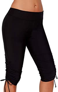 Iclosam Pantalones Natacion Mujer Shorts De Bano Traje De Bano Banador Deportivo Largo Para Playa Piscina Mar Bucear Parque Acuatico Leggings Mujer
