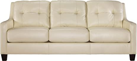 Ashley Furniture Signature Design   Ou0027Kean Upholstered Leather Sofa    Contemporary   Galaxy