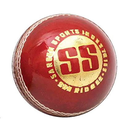 4509ed2c0c4 Image Unavailable. Image not available for. Color  SS Swinger Alum Tanned  Leather Cricket Ball