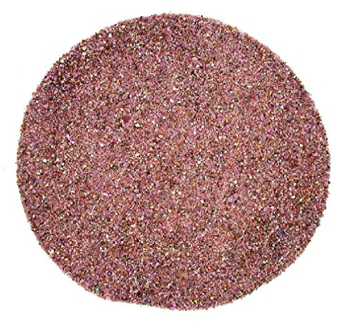 No Crystal Ruby - 1/2 Ounce Natural No Dye Crushed Stone Red Ruby Crystal Jewelry Craft Inlay Powder 2mm & Less
