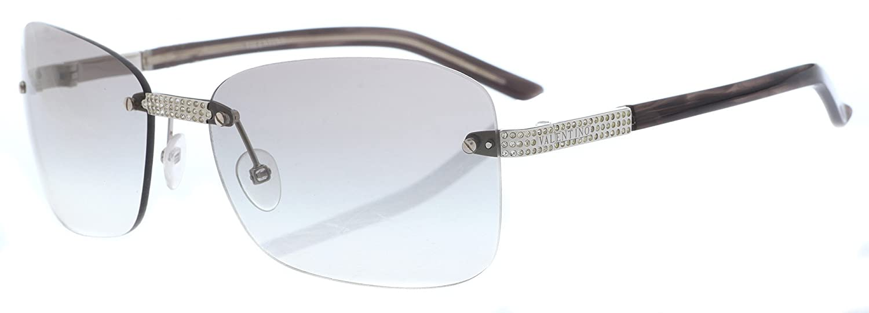 Amazon.com: Valentino anteojos de sol mujer Plata 5383-s-k5d ...