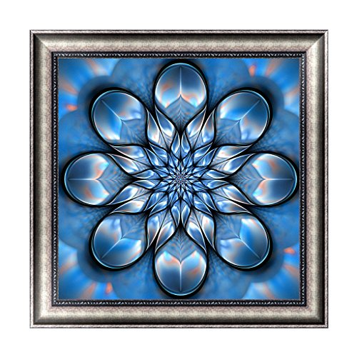 OHTOP Fantasy Rotating Geometric Figure Craft DIY 5D Diamond Painting Embroidery Cross Stitch Room Wall Decoration