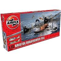 Airfix Bristol Beaufighter TF.X 1:72 WWII Military Aviation Plastic Model Kit A04019