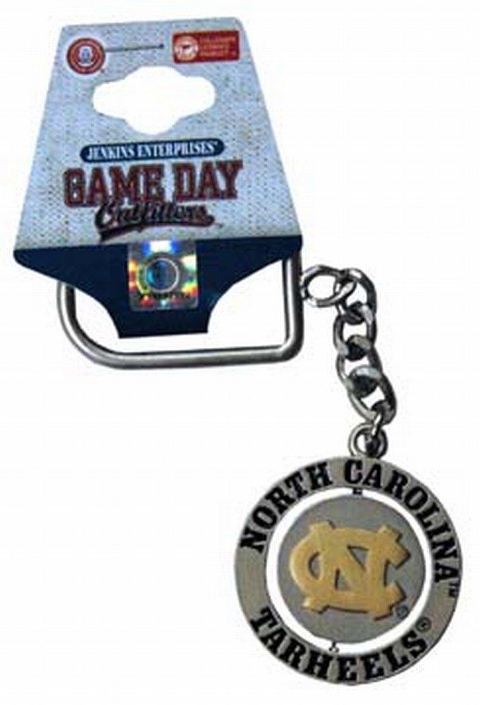 NCAA North Carolina Tar Heels Keychain Relief Spinner