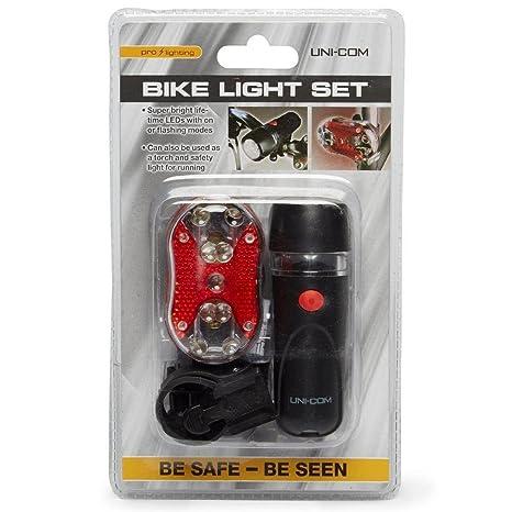 New Unicom Quick Fit Bike Light Set