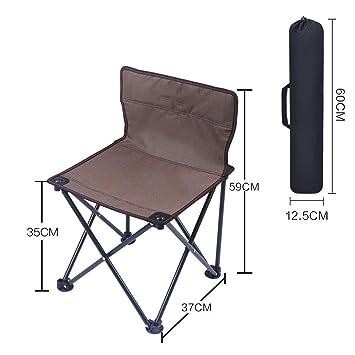CAOYU Silla Plegable al Aire Libre portátil Taburete Silla de Playa para Acampar Silla de Pesca Taburete Mesa y Silla (Color : C): Amazon.es: Hogar