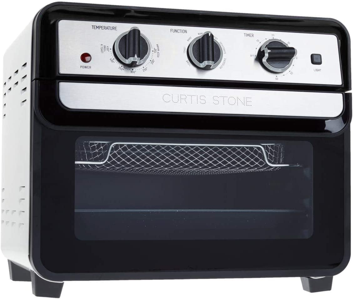 Curtis Stone Dura-Electric 1700-Watt 22L Air Fryer Oven Model 679-725 (Renewed)