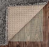 Abahub Anti Slip Rug Pad 8' x 10' for Under Area Rugs Carpets Runners Doormats on Wood Hardwood Floors, Non Slip, Washable Padding Grips