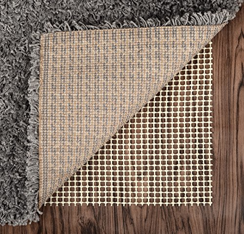 Abahub Anti Slip Rug Pad 2 x 8 for Under Area Rugs Carpets Runners Doormats on Wood Hardwood Floors, Non Slip, Washable Padding Grips