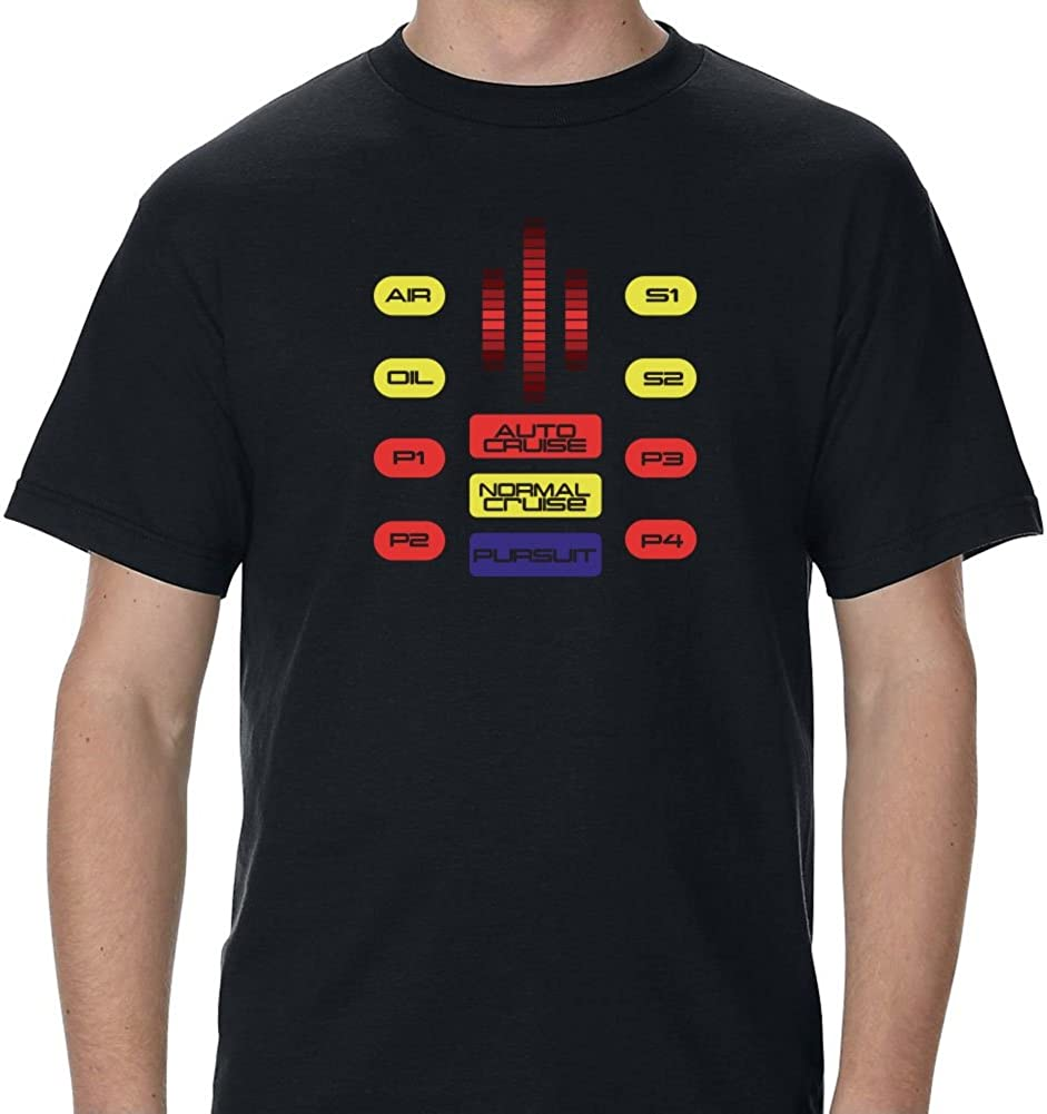 Knight Rider TV Show KITT SUPER PURSUIT MODE T-Shirt All Sizes