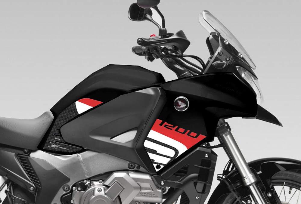 Protections lat/érales r/éservoir pour Honda crosstourer/ /Rouge