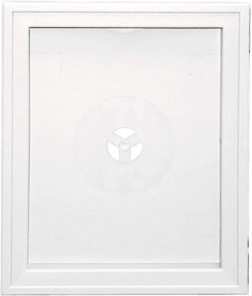 Builders Edge 130120008117 Mounting Block Bright White