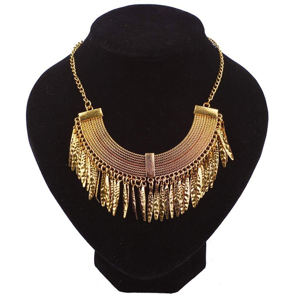 cushang Mens Pendant Arc Willow Water Droplet Pendant Necklace Ribbon Long 45cm+5cm Extension Chain