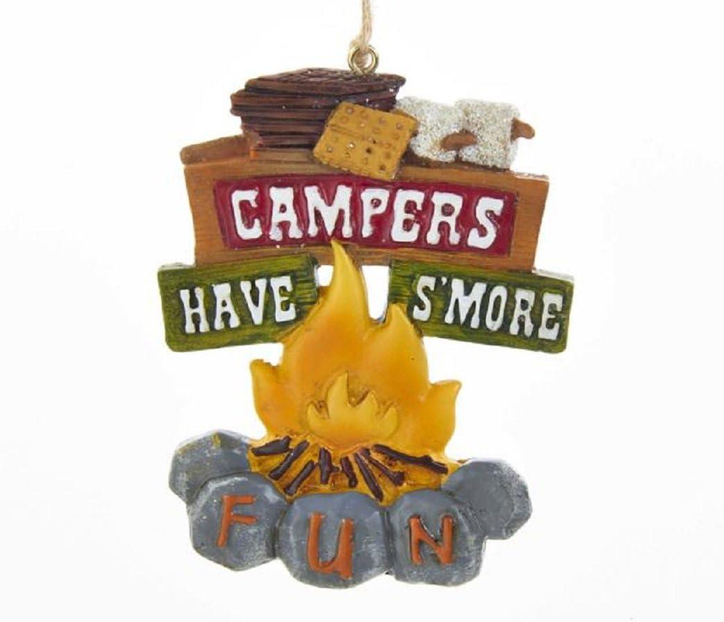 Kurt Adler Campfire Hanging Ornament Resin Home Decor