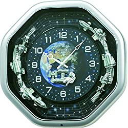 Rhythm Clocks Galaxy Magic Motion Clock