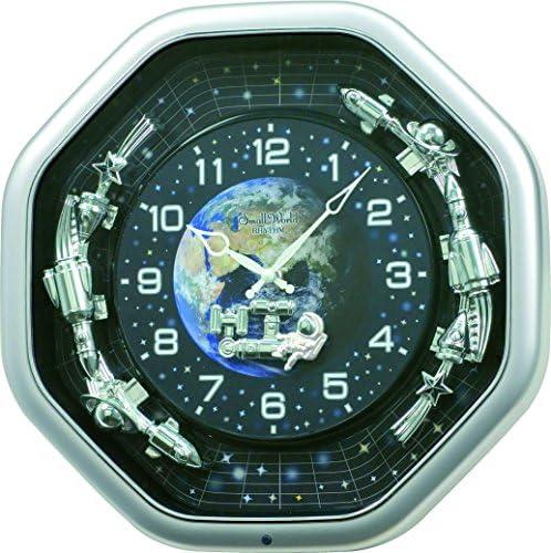 Rhythm Clocks Princess Fantasy Musical Motion Clock