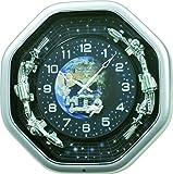 Rhythm Clocks ''Galaxy'' Magic Motion Clock