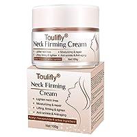 Neck Firming Cream, Neck Anti-Wrinkle Cream, Anti Aging Moisturizer for Neck & Décolleté...