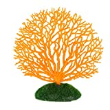 Product review for NUOLUX Coral Ornaments for Aquariums Fish Tank Artificial Coral Decoration (Orange)
