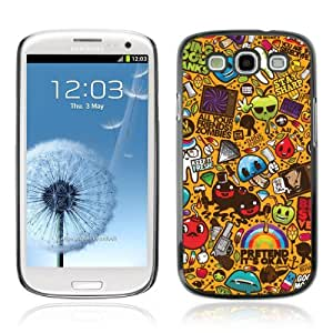 Designer Depo Hard Protection Case for Samsung Galaxy S3 / Cool 420 Graffiti Pattern
