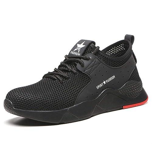 Botas de Seguridad para Hombre con anticortes, Zapatos de ...