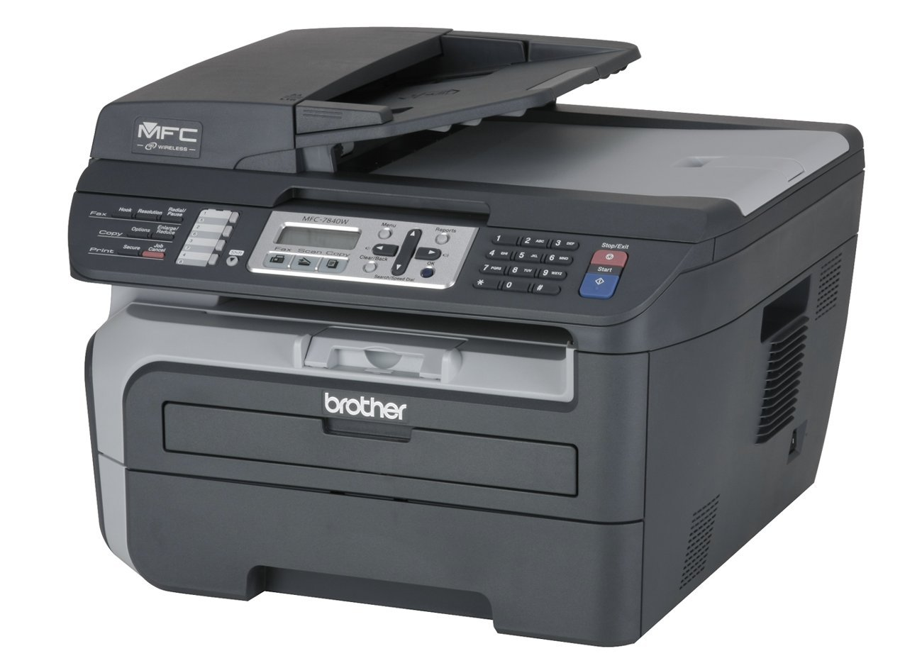 amazon com brother mfc 7840w laser multifunction center electronics rh amazon com Brother MFC 7840W Maintenance Brother Printer MFC-7840W Wireless Setup