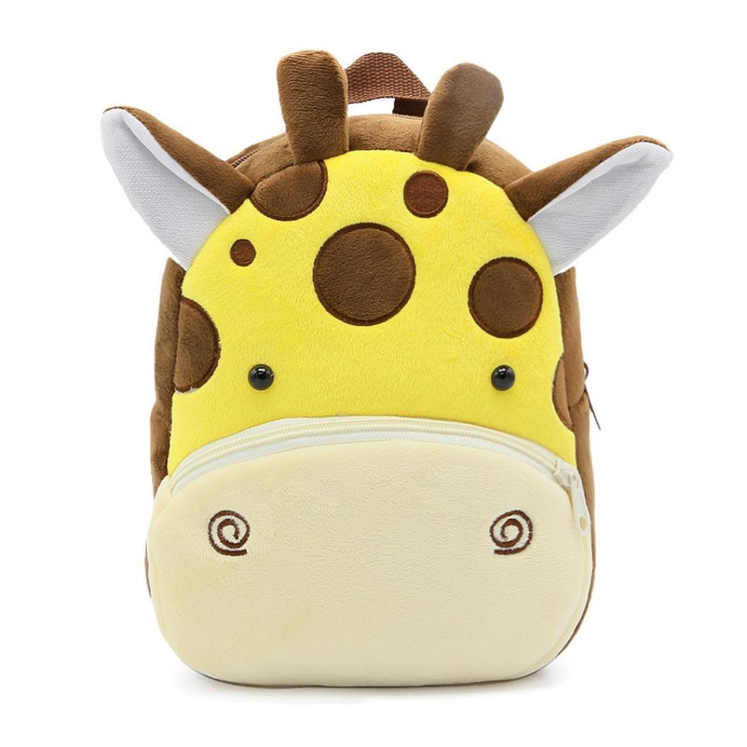 squarex Children Baby Girls Boys Kids Cute Cartoon Animal Backpack Toddler School Bag