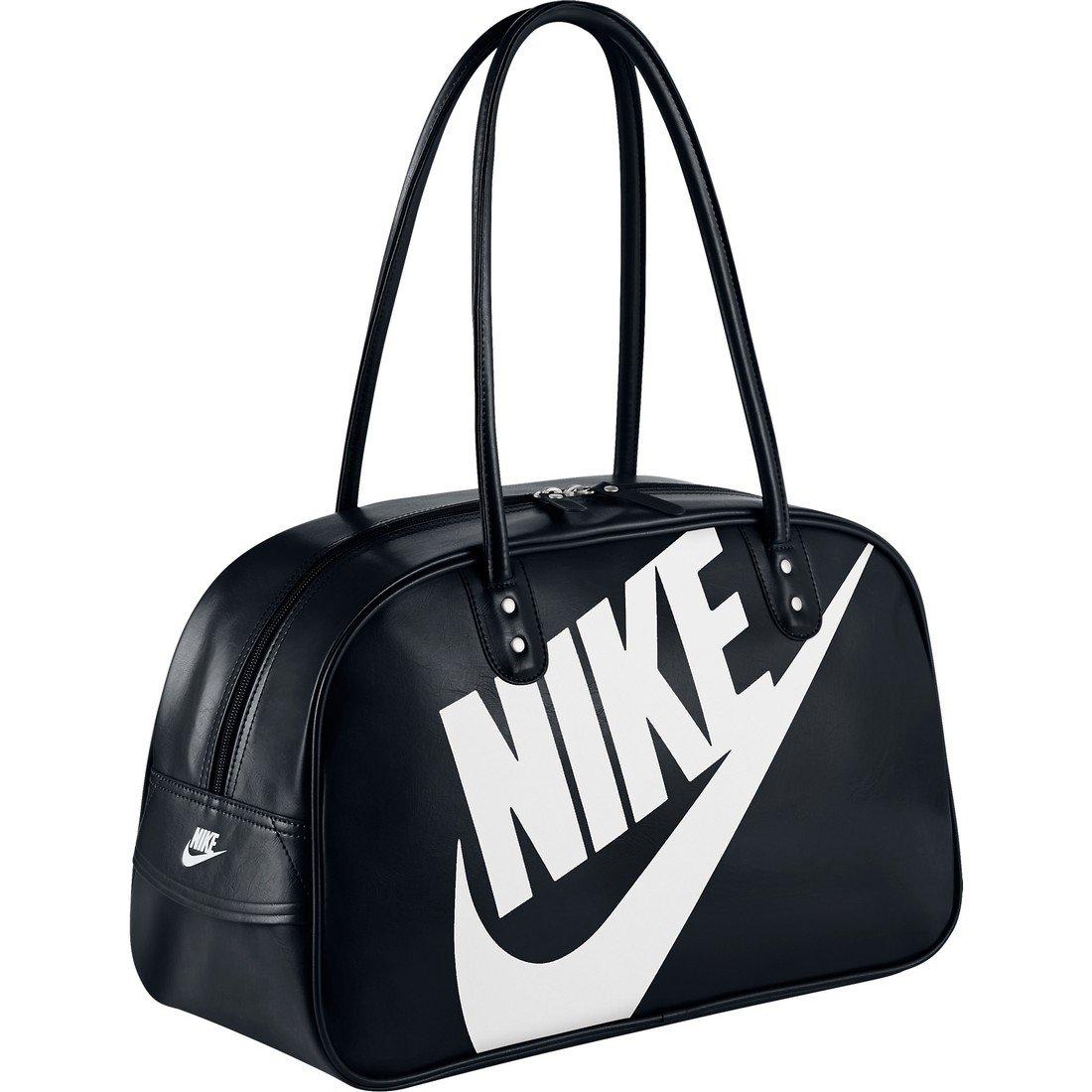 Nike Unisex Heritage Si Shoulder Bag Club (Black)  Amazon.in  Shoes    Handbags aa88809f4d3
