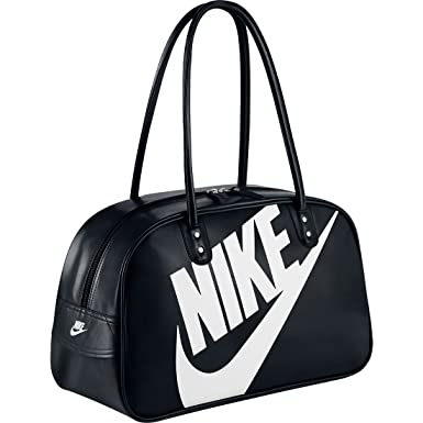 Nike Unisex Heritage Si Shoulder Bag Club (Black)  Amazon.in  Shoes ... f580505b359