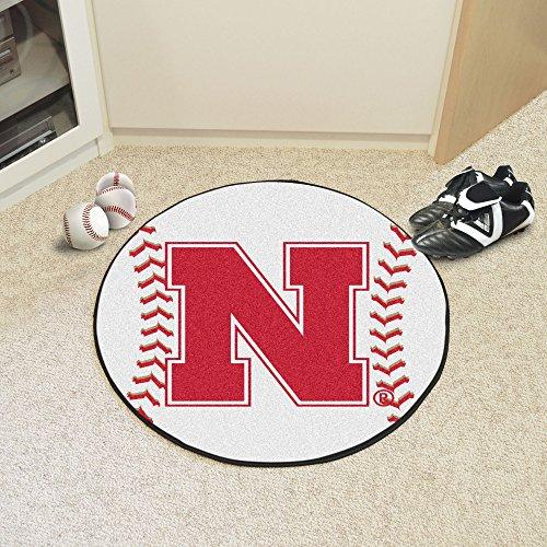 Fanmats University of Nebraska Baseball Mat
