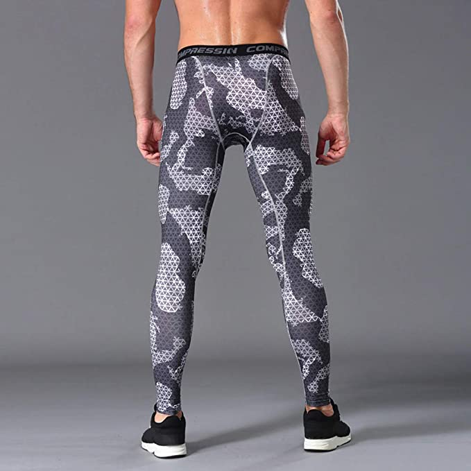 70b639a35d4dd6 ODRD Yoga Hosen Pants Mens Gym Sport Thermal Tight Compression Base Layer Hose  Lange Leggings-Hose Laufhose Sweathose Jogging Trainingshose Fitnesshose ...