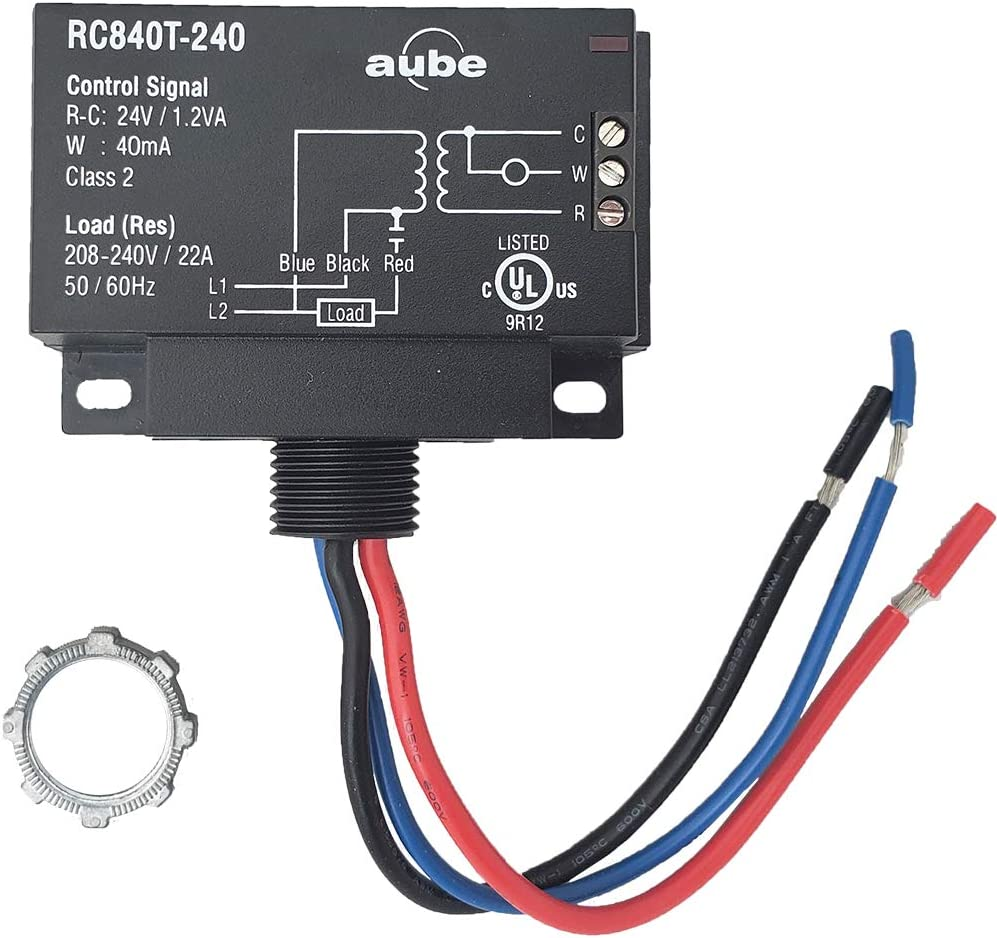 240 ac wiring aube rc840t 240 on off switching electric heating relay with built  off switching electric heating relay