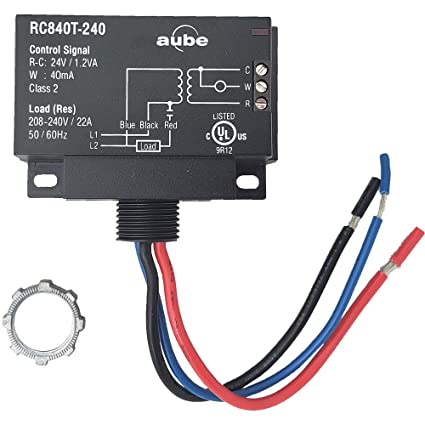 Enjoyable Amazon Com Aube Rc840T 240 On Off Switching Electric Heating Relay Wiring 101 Photwellnesstrialsorg
