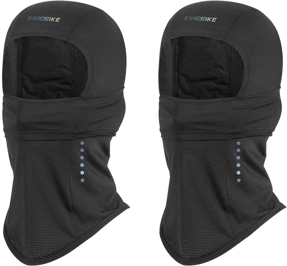 KINGBIKE Balaclava Face Mask Multifunction UV Protection UPF50++, Neck Gaiter,Bandana,Headwear,Advanced Fabric