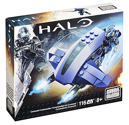 Mega Bloks Halo Covenant Commander Building Set from Mega Bloks