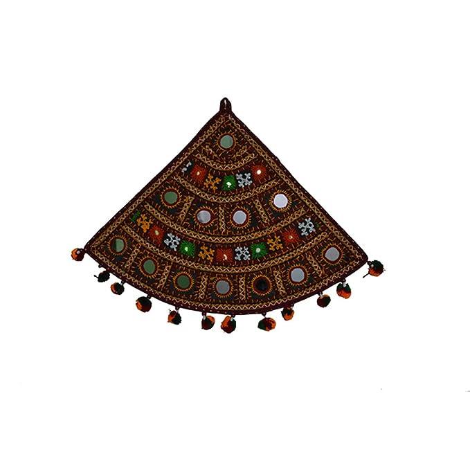 Amazon Com Royal Handicrafts Hand Embroidered Quadrant Shaped