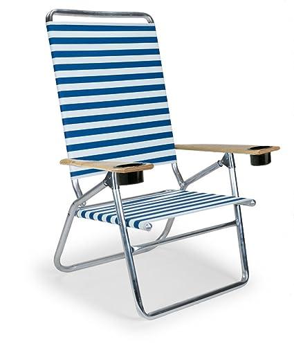 amazon com telescope casual light and easy high boy folding beach