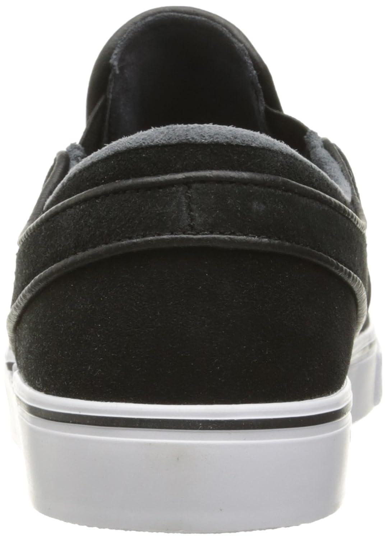 Amazon.com | Nike Men's Zoom Stefan Janoski Slip Black/White Skate Shoe 9  Men US | Fashion Sneakers
