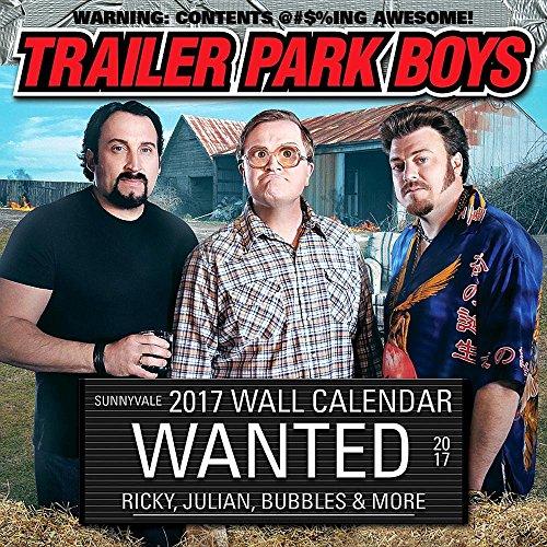 Trailer Park Boys 2017 Calendar (Trailer Park Boys Calendar compare prices)