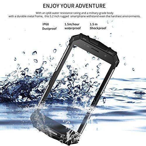 DOOGEE S60 IP68 Smartphone libre - Impermeable Antipolvo Antigolpes