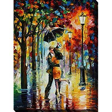 18  x 24  Dance Under the Rain Leonid Afremov Art